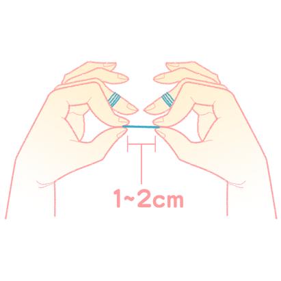 フロスの使い方3