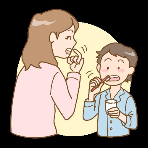 お子様の歯磨き